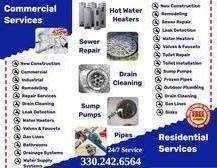 Modern Process Plumbing Plumber Repair Brochure medina, wadsworth, brunswick, cleveland, westlake